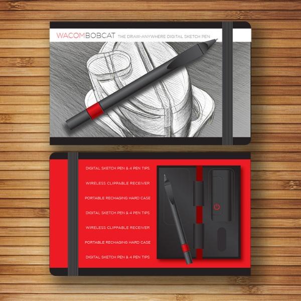 Wacom // Exploratory Work // Moleskin Sketchbook Packaging Design