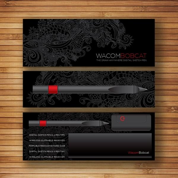 Wacom // Exploratory Work // Slipcover Box Design