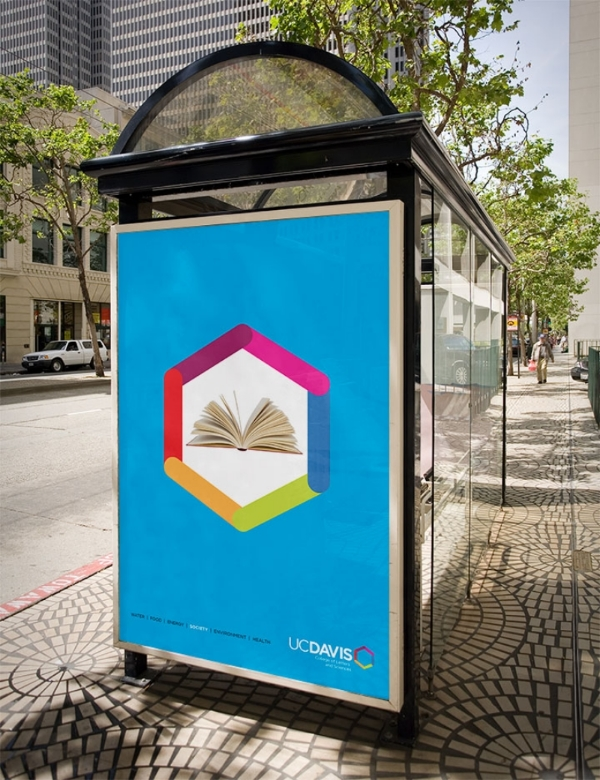 School of Humanities // Bus Shelter Ad