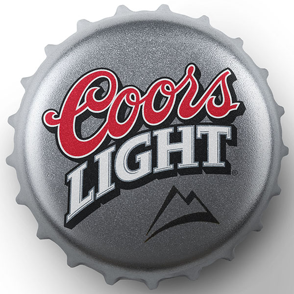 Coors Brewing Company // Coors Light Logo and Packaging