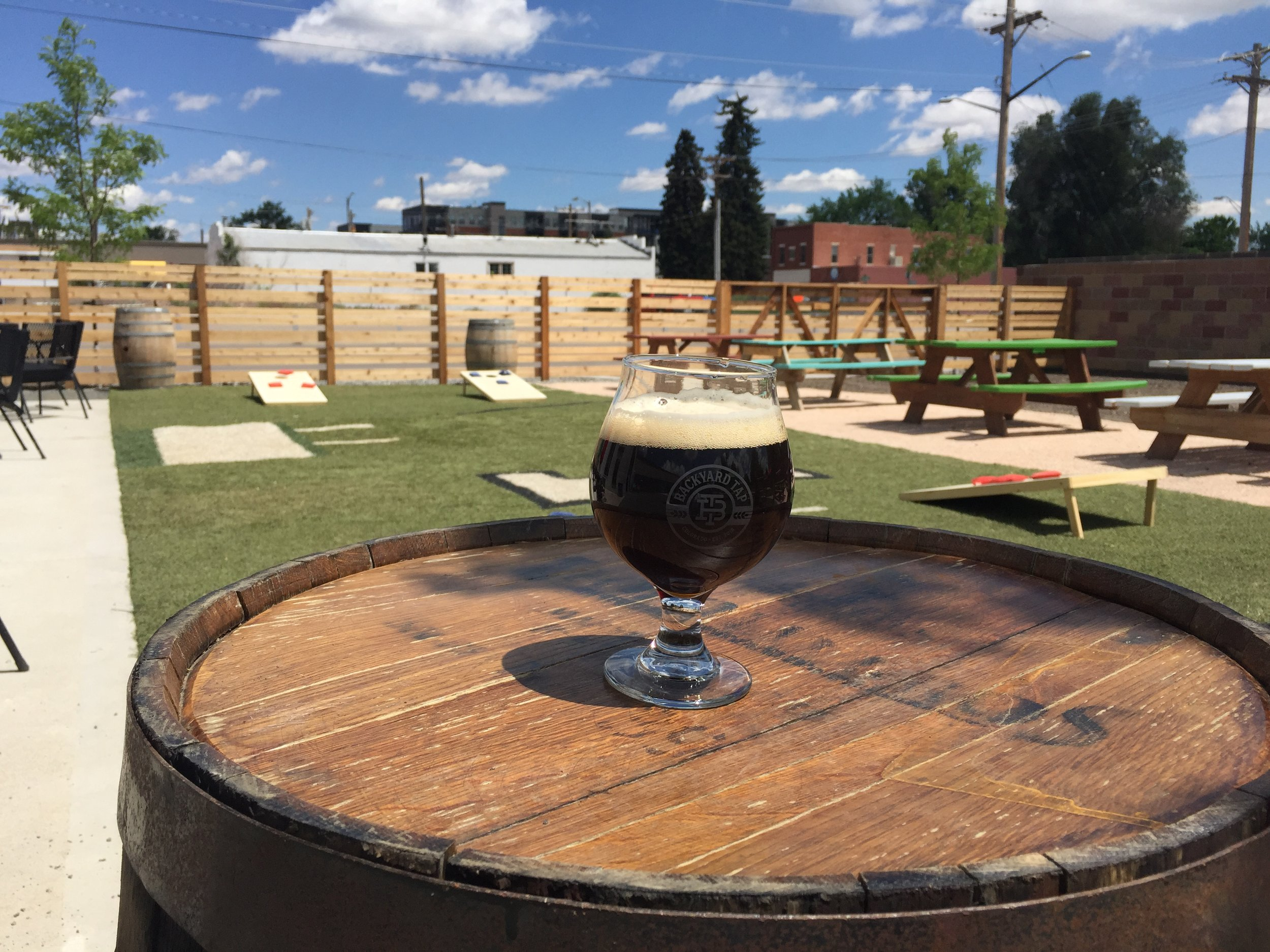 #1 - Backyard Tap (Now Open!)2-for-1 Drink Specials: Drafts or Wines by the Glass