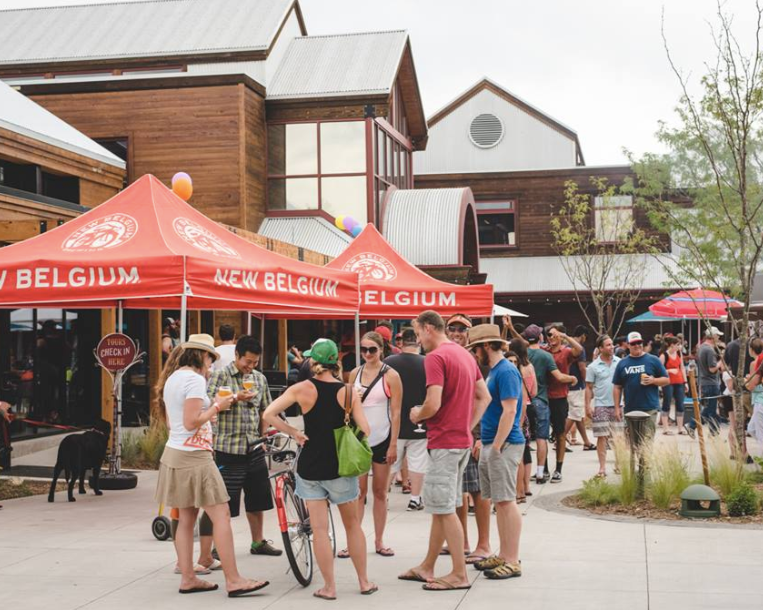 #3 - New Belgium Brewing Co.2-for-1 Drink Specials: Drafts