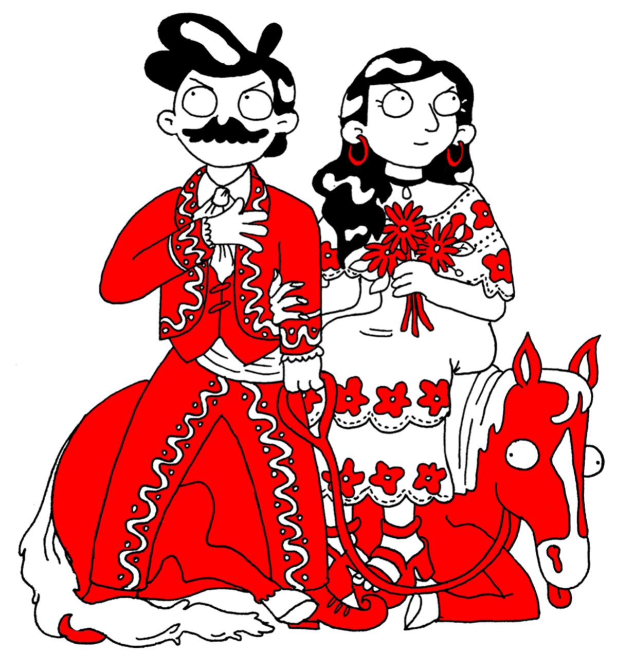 Promotional image for Tijuana Zine Fest