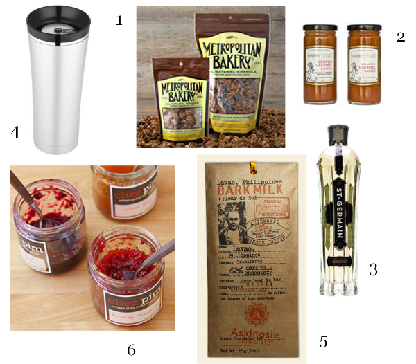 gift guide food and drink