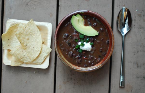 adobo black bean soup