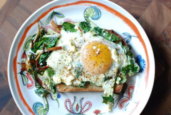 eggs and greens 1
