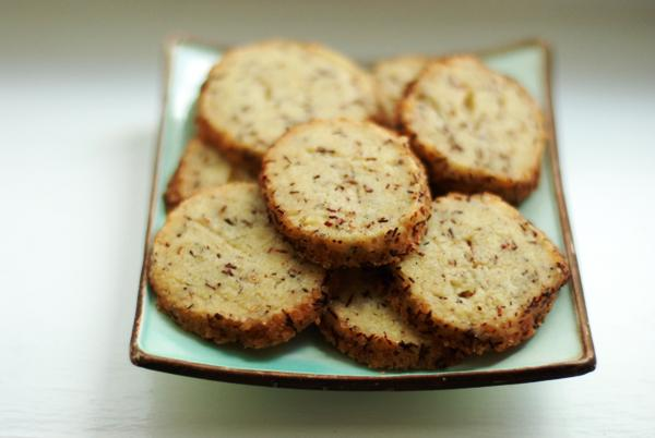 rooibos vanilla cookies batch 1