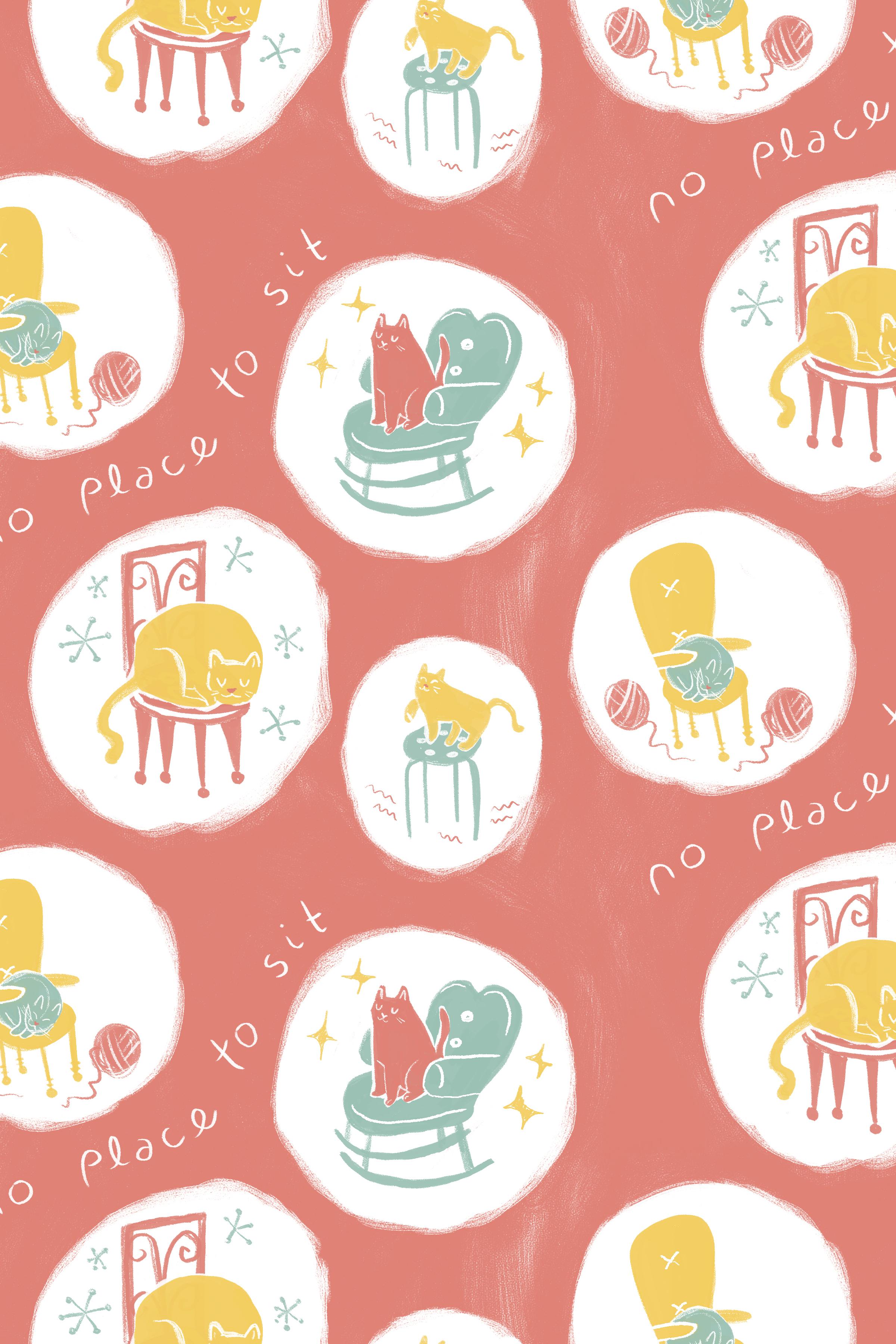 kitties in chairs pattern- DISPLAY.jpg