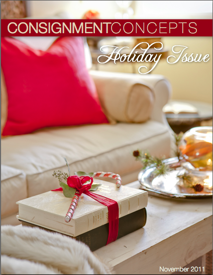Consignment Concepts 2011 Holiday Issue