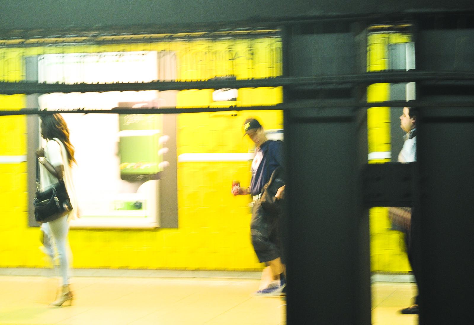 In Motion - Toronto Subway