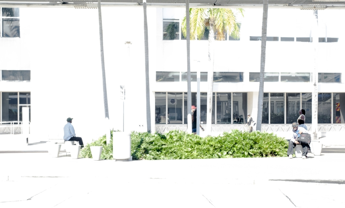 Waiting for A Bus - Miami (2016)