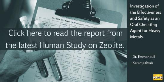 Zeolite Study on Humans