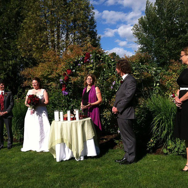 Wedding ceremony, 2013