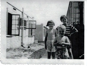 Jody, Bill & Mary Lee Grimm Summer 1949