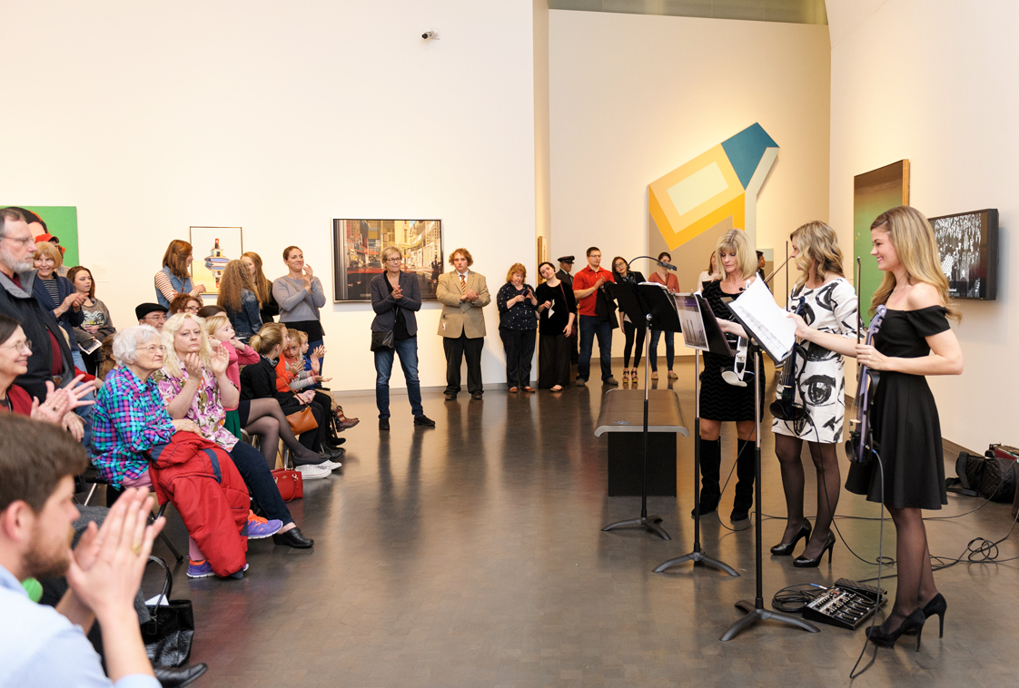 Third Thursday: You and the Night and the Music,  February 18, 2016 in the Bloch lobby at The Nelson-Atkins Museum of Art in Kansas City, MO. Photographer / Lauren Frisch Pusateri.