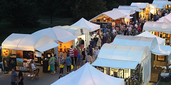 Art Booths at Autumn and Art