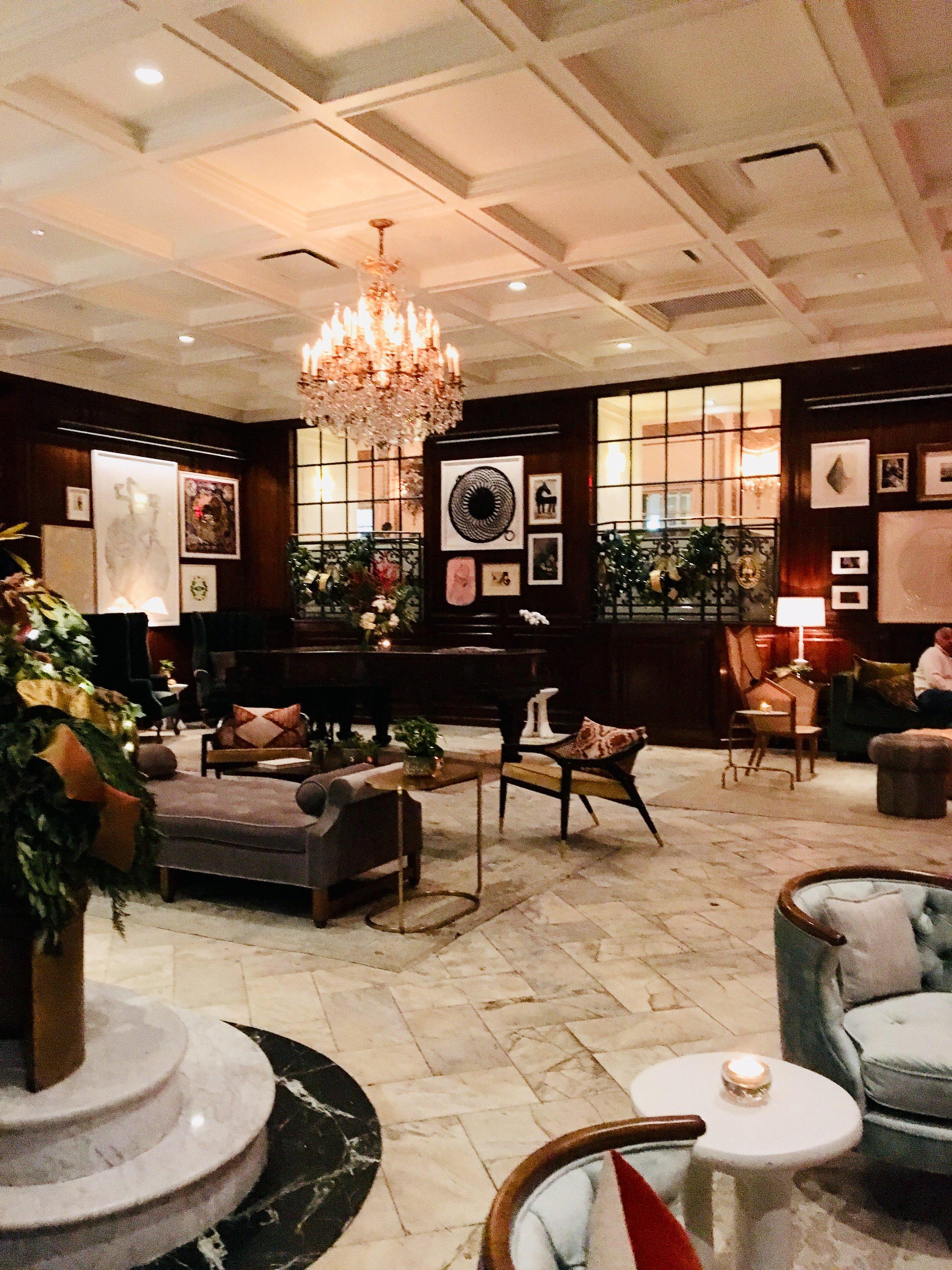 Adolphus Lounge where we perform