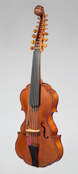 Viola d'Amore, US Public Domain