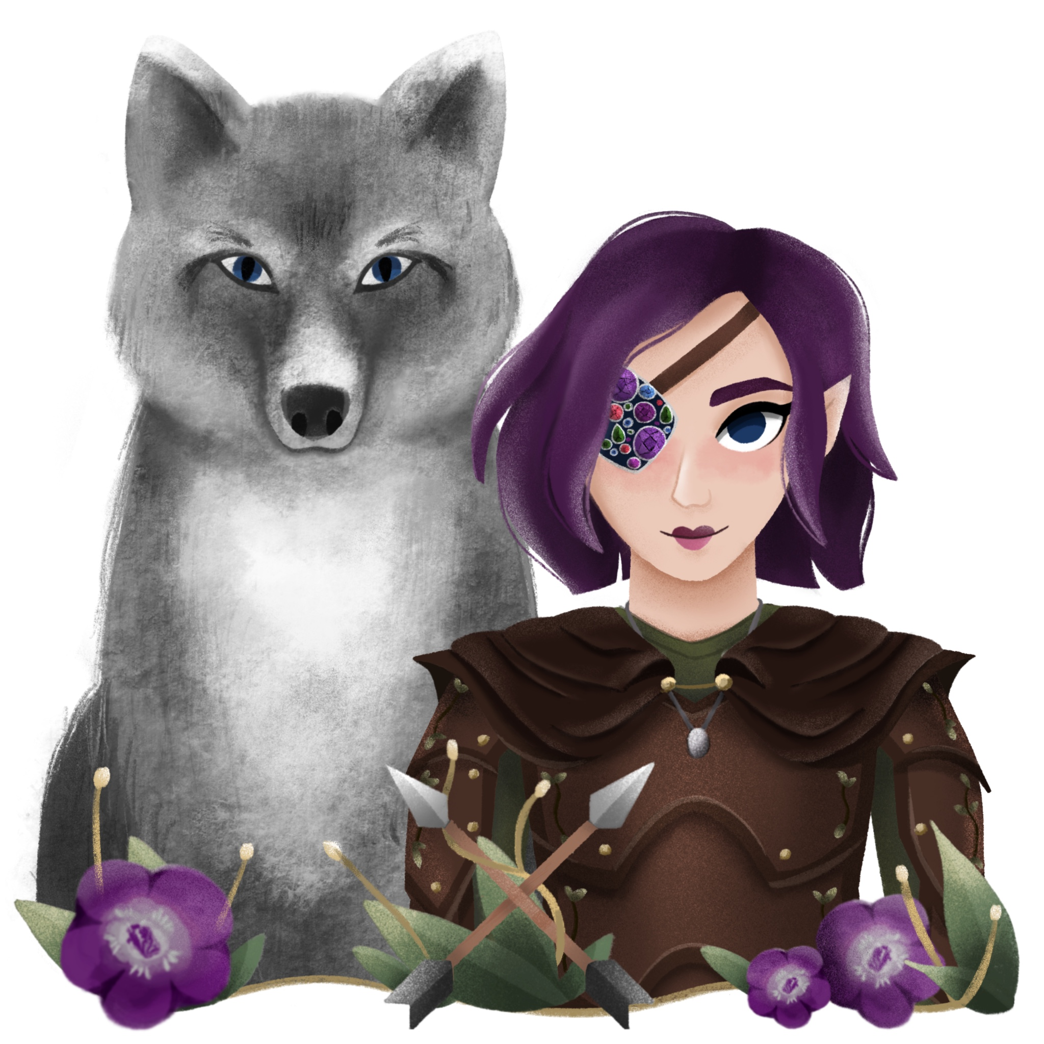 Original character belongs to Kaylee Pavel