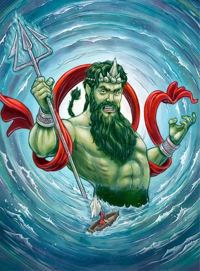 Poseidon Cover Art