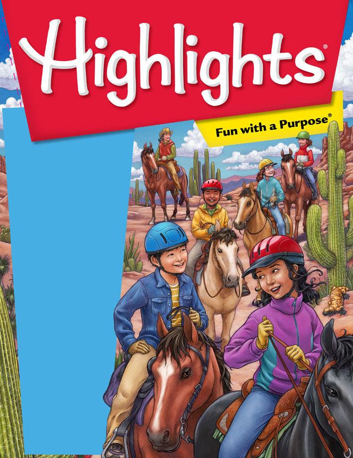 Cover Illustration for Highlights Magazine