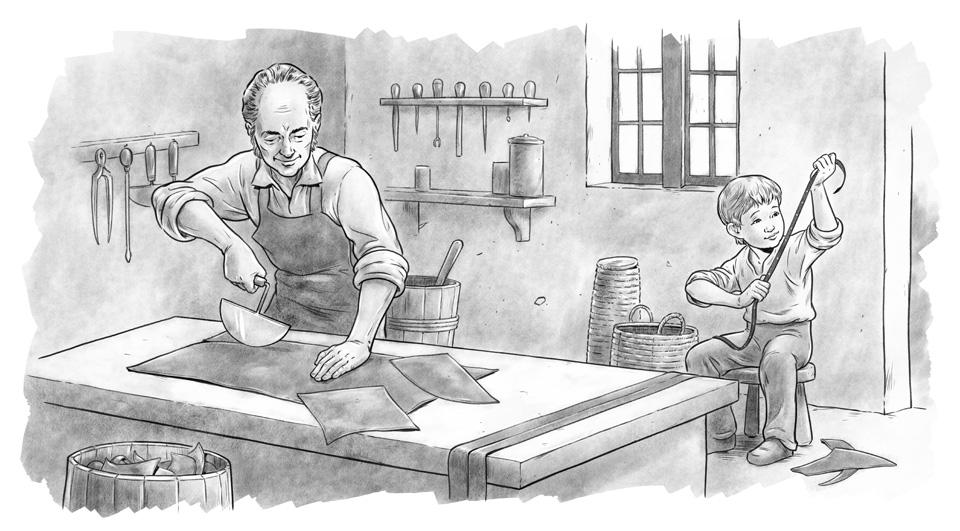 Louis Braille's Workshop