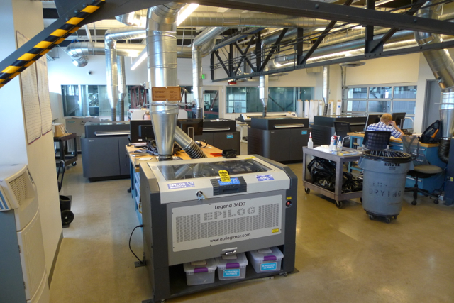 A League of Laser Cutters and 3D printers