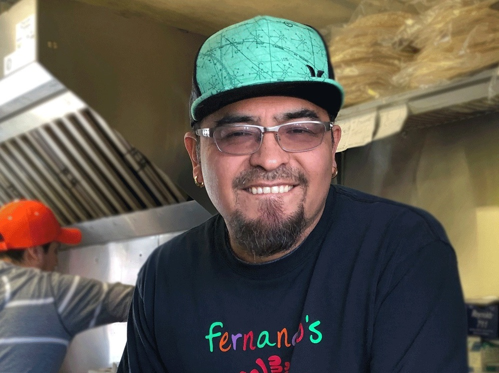 """""""When you are creative, people try your food. Here you can invent something that noone has ever done and I assure you that people will try it. People support you if you are a small business."""" - -FERNANDO RODRIGUEZ, Fernando's Alegría"""