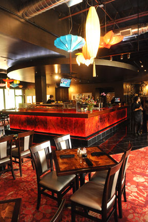 The sexy new bar at Chinatown  BY JOHN ANDERSON