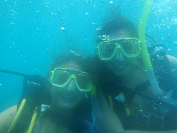 Dr. Nikki and Alexandra Weeber Diving theGreat Barrier Reef, 2008