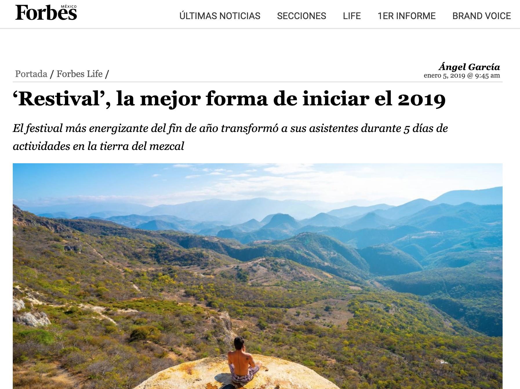 Teniendo como escenario los maravillosos paisajes de Oaxaca, entre los imponentes plantíos de agave del Rancho Los Amantes, 70 personas vivieron una experiencia sin igual mientras se despedían del 2018 para recibir al Año Nuevo