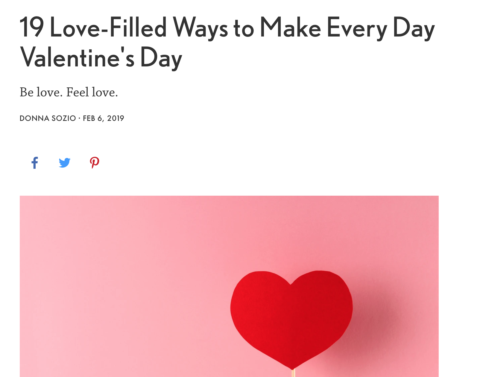 It's almost Valentine's Day and the energy of    love    is definitely in the air. Whatever your heart's desire - here are 19 ways to raise the vibration of love in your life to give you all the good feels.