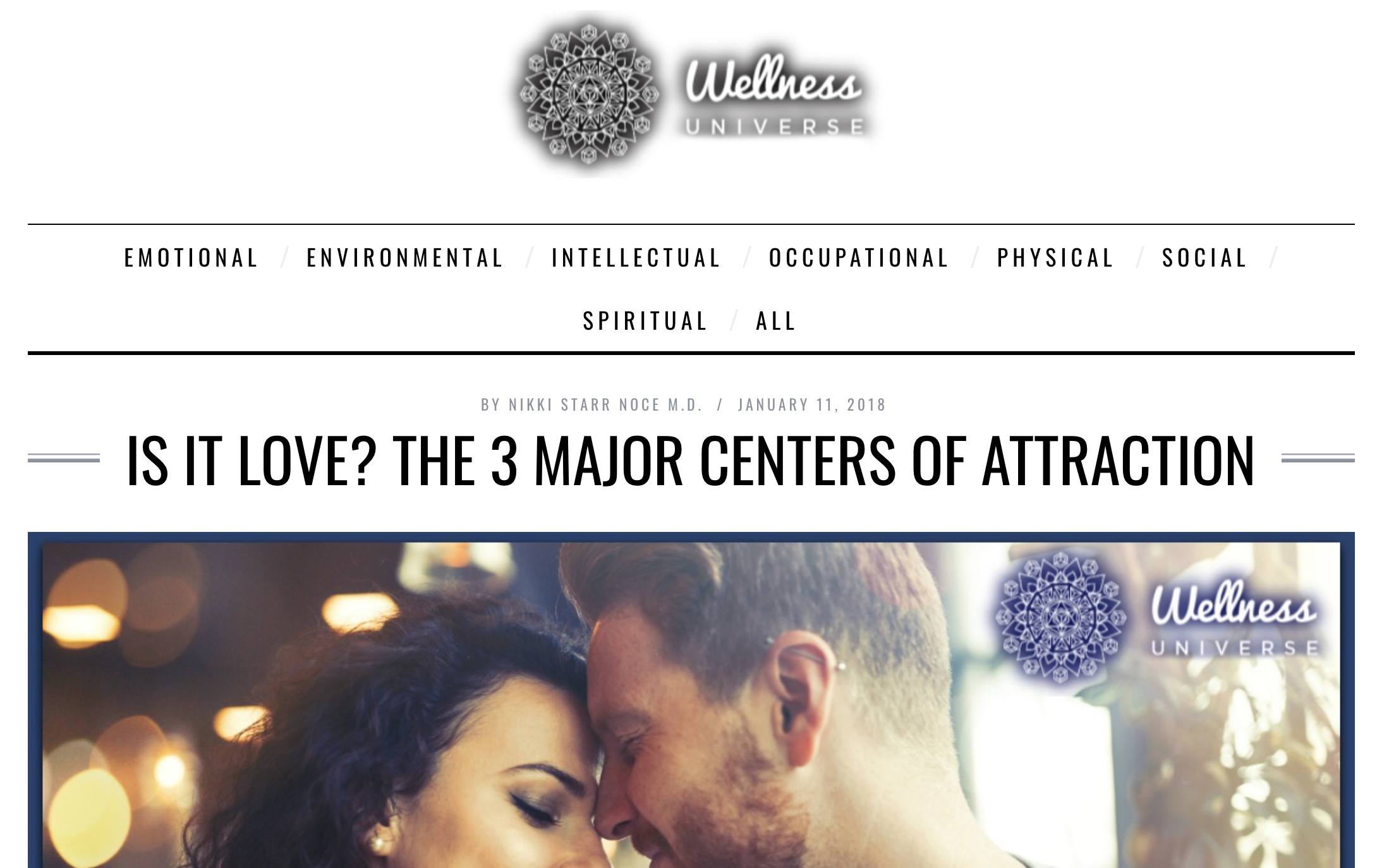 Is it Love?     Not necessarily. The moment there is a strong attraction, most people automatically think it means to love or have a romantic interest. Though this could be true, there are many reasons to feel an attraction towards someone.