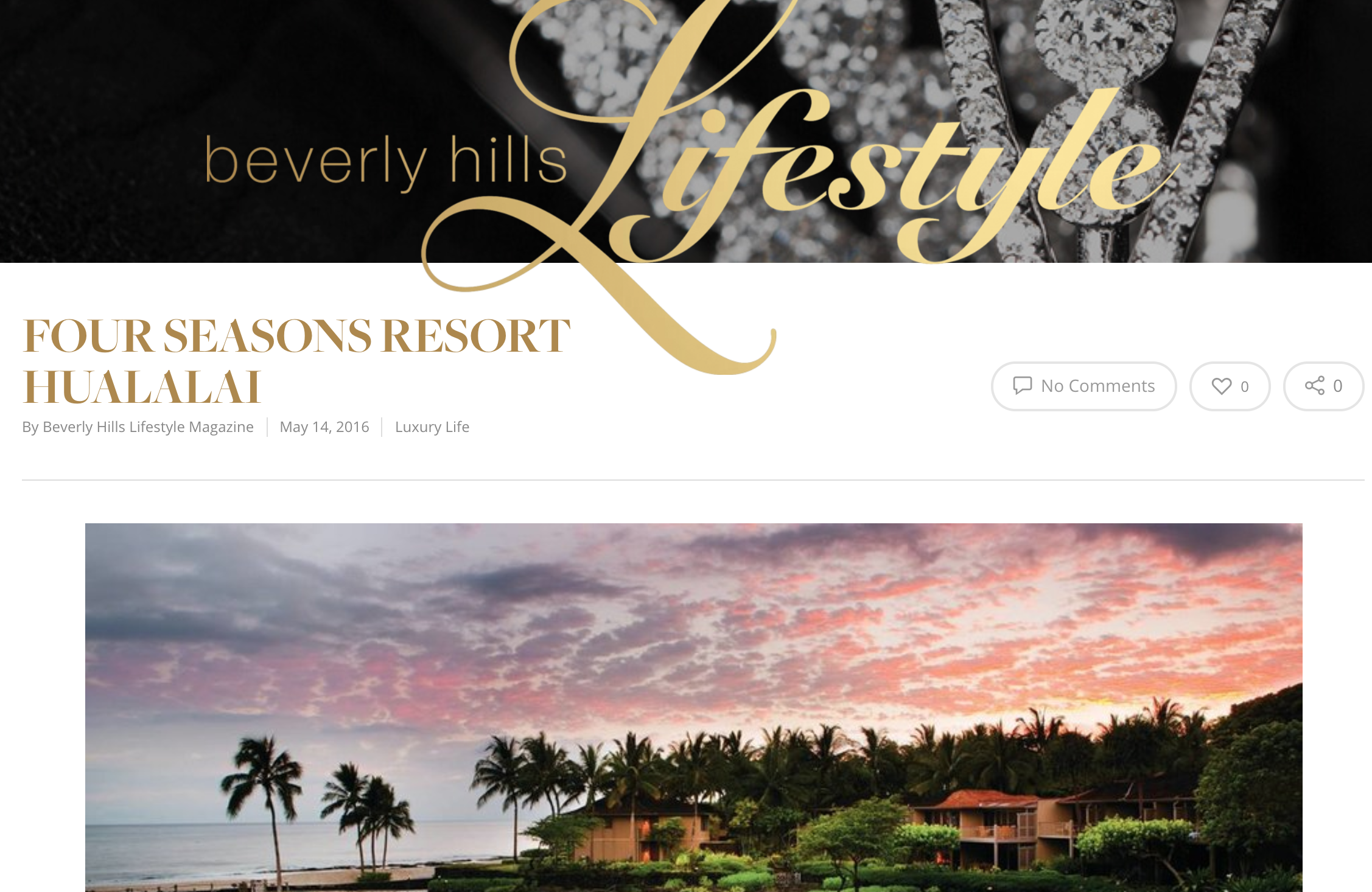"""Four Seasons Resort Hualalai, the first and only    AAA Five Diamond and Forbes Five Star hotel    on Hawaii Island, announces one-of-a-kind    Summer 2016    programming, proving a wealth of activities and opportunities for guests.to learn. Offerings include:     Dave Scott Triathlon Experience    – Triathlon enthusiasts know Kona as home to the    IRONMAN   ™ World Championship – and they certainly know    Dave Scott    (a.k.a. """"The Man""""), six-time champion and first inductee into the IRONMAN™ Hall of Fame."""