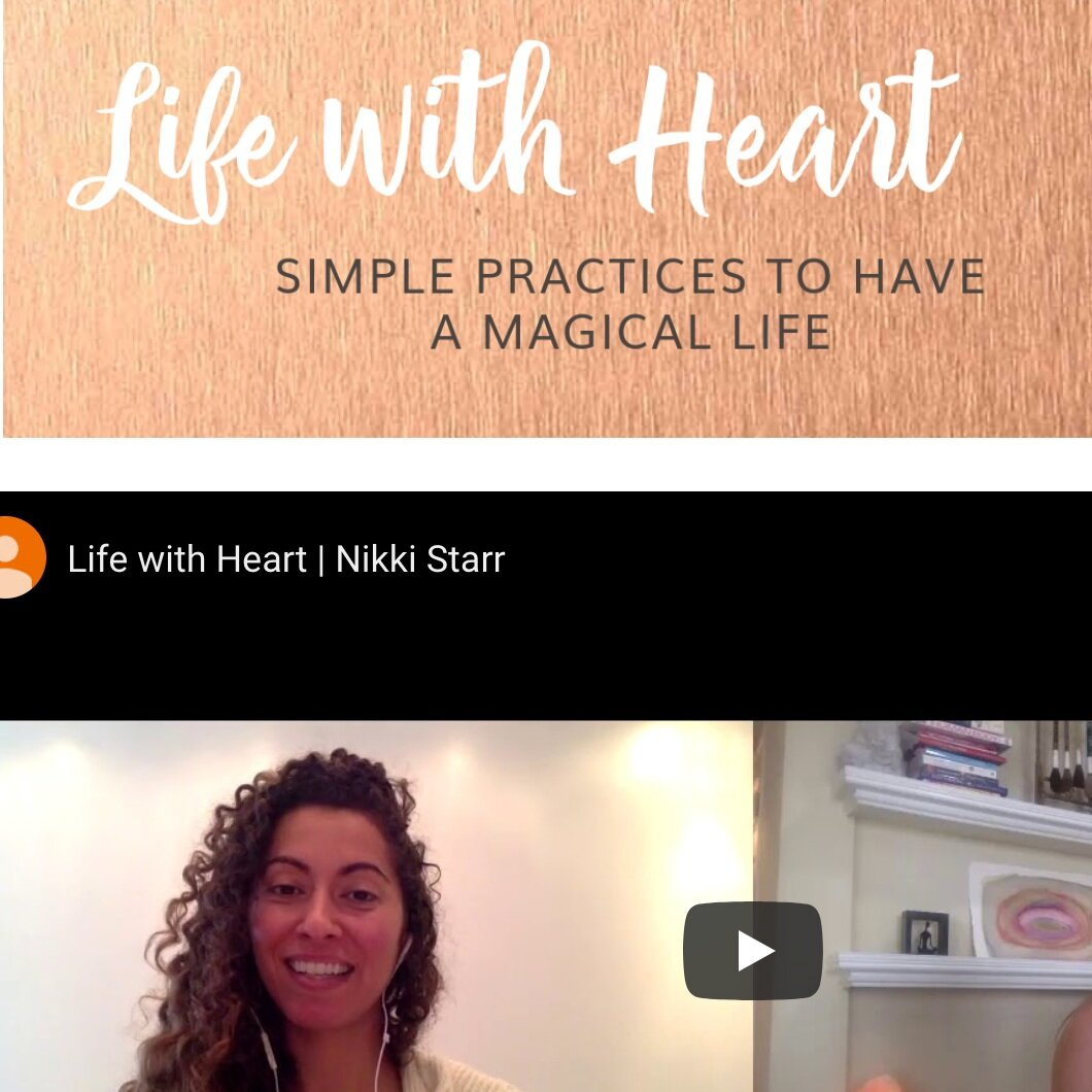 Live Life with Heart - Dr Nikki Starr went through NYU Medical School to realize the ultimate prescription for a healthy happy life is self care and love are the greatest medicines.