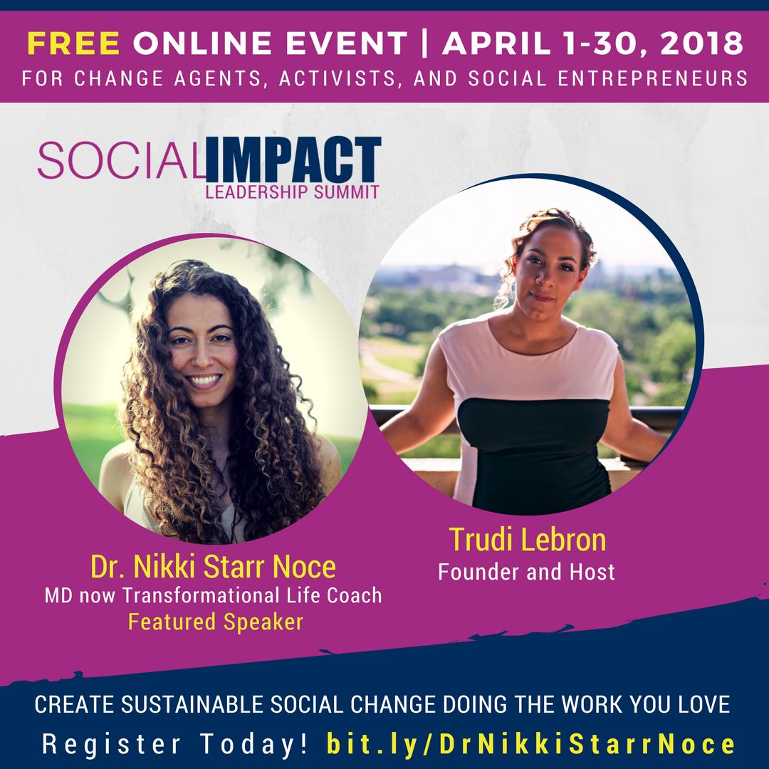 Social Impact Leadership Summit - April, 2018