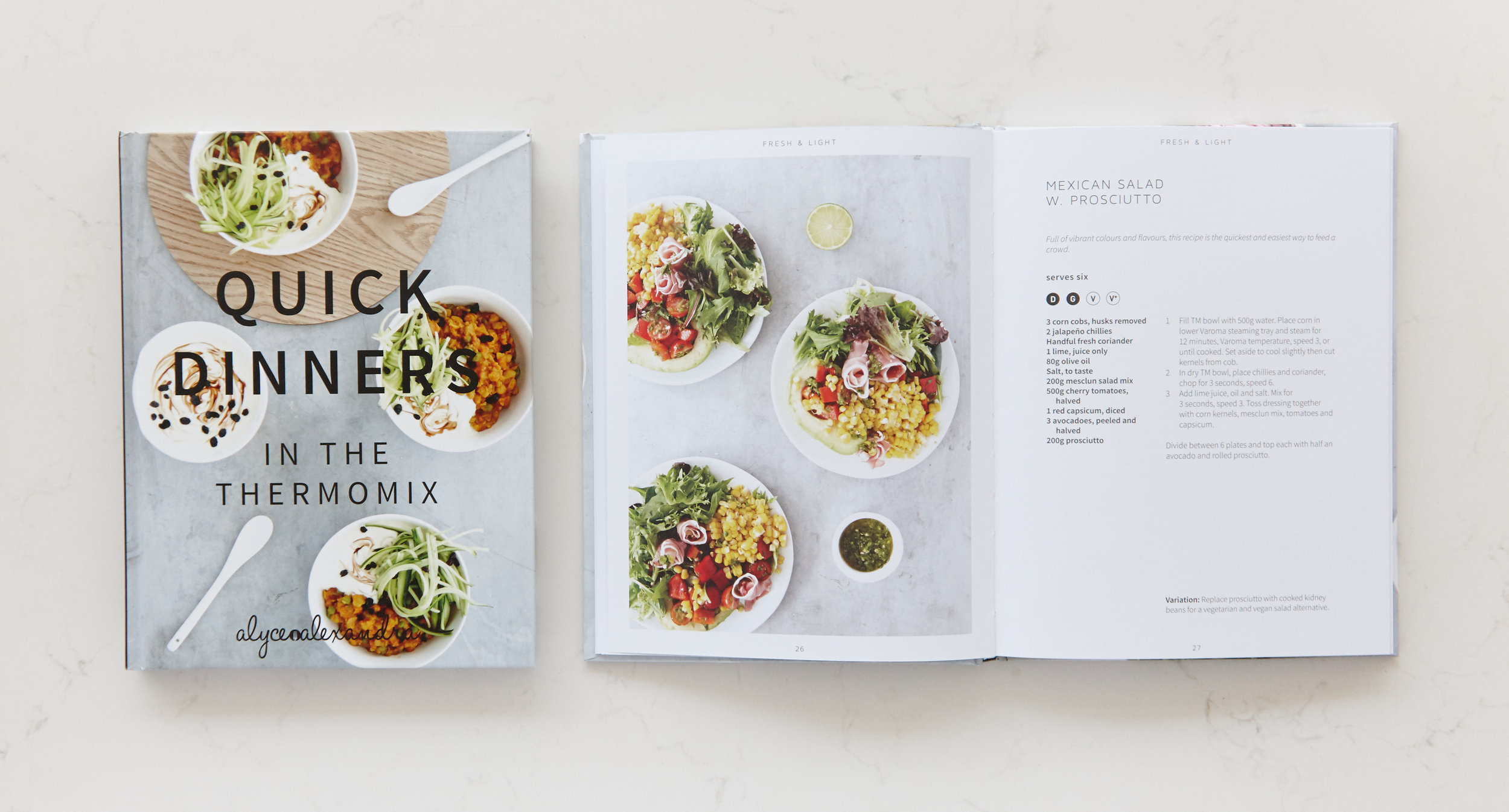 Our popular thermomix and thermo cooker cookbook filled with tried and tested recipes; ' Quick Dinners '