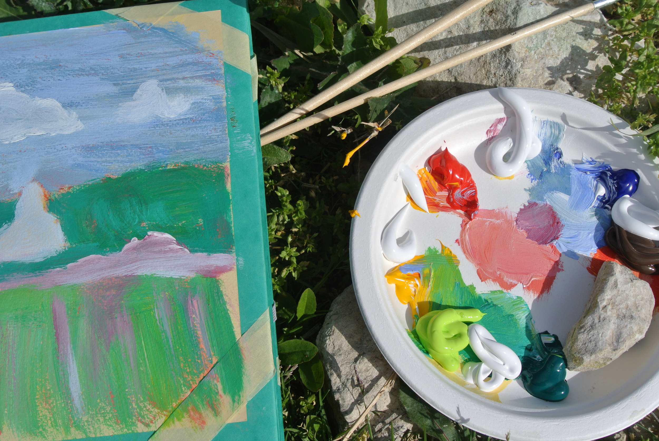 aspiringkennedy_painting_in_provence