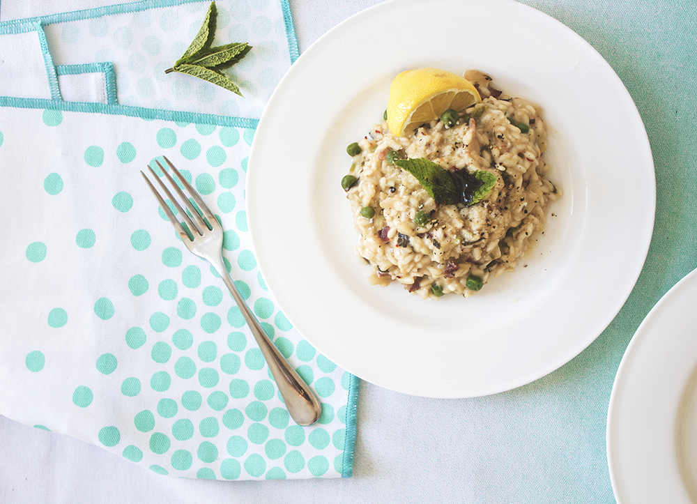 pea_mint_and_feta_risotto_aspiring_kennedy_the_lovely_drawer_teri_muncey