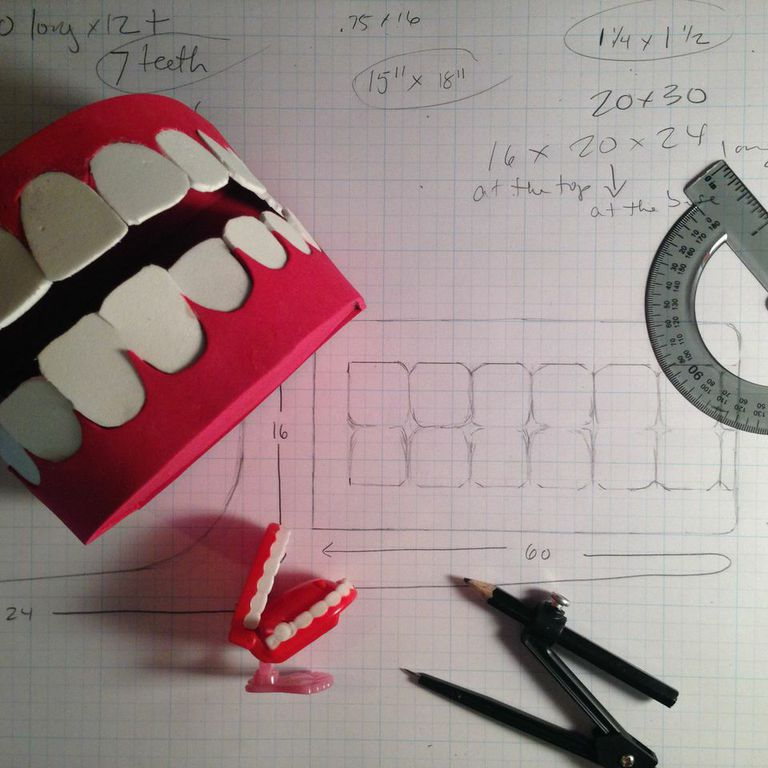 Plans for Giant Teeth