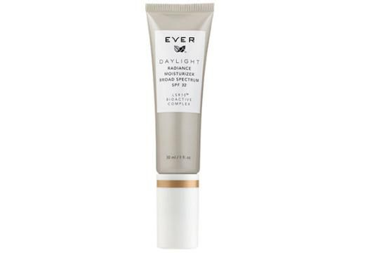 After massaging and pressing the firming liquid into my face and neck, I do the same thing with this tinted moisturizer.  I am SO happy with the coverage of this.  It smooths out the skin, has SPF 32, but still allows that dewey glow and not the cakey makeup look.  So amazing.