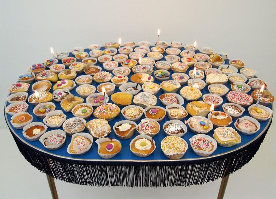 Cake baking day three - 92 decorated cakes