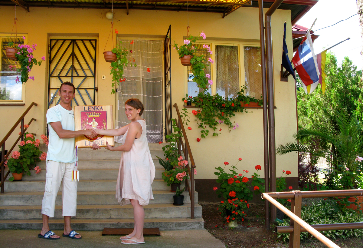 2008 / meeting the mayor and townspeople of Lenka, a small village of 202 people in Slovakia