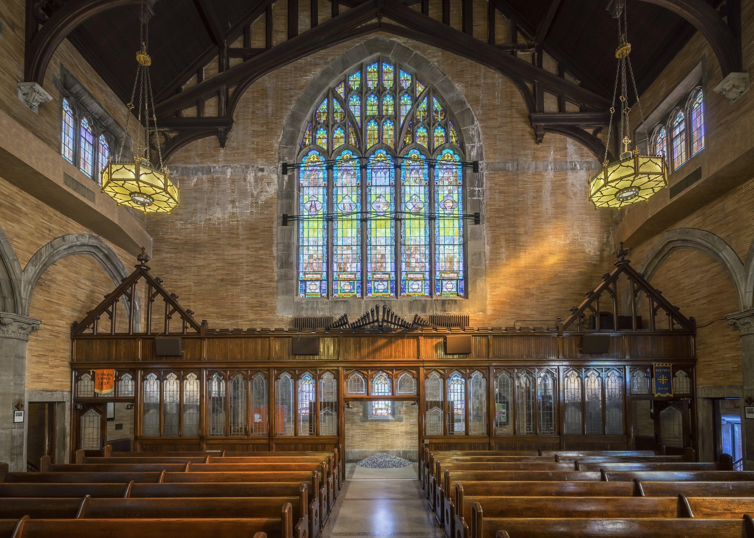 A Museum Artwork in a Church