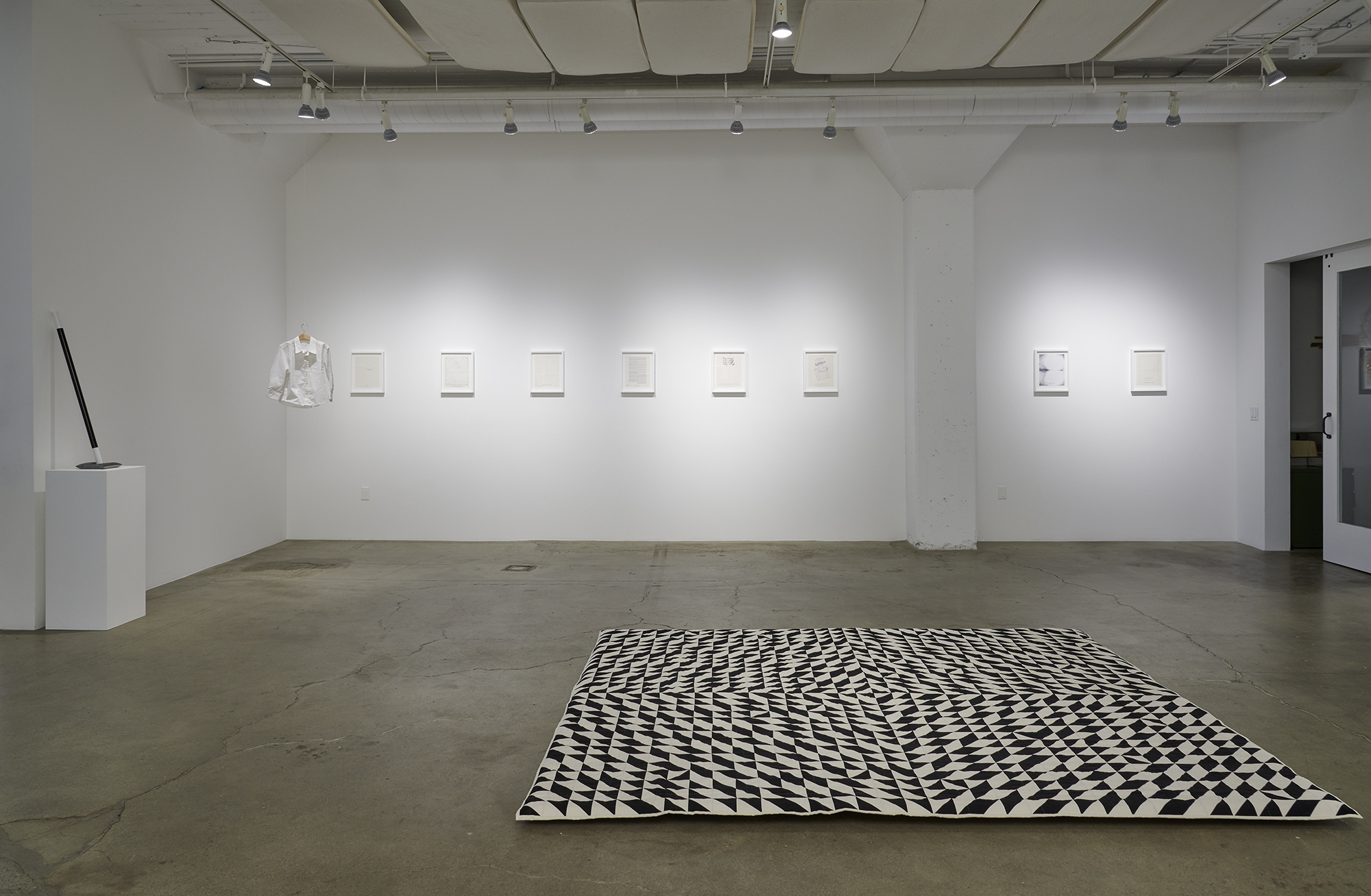 """Installation view of solo show """"Won, Too, Free, For"""", Catharine Clark Gallery, SF, April - May 2019"""