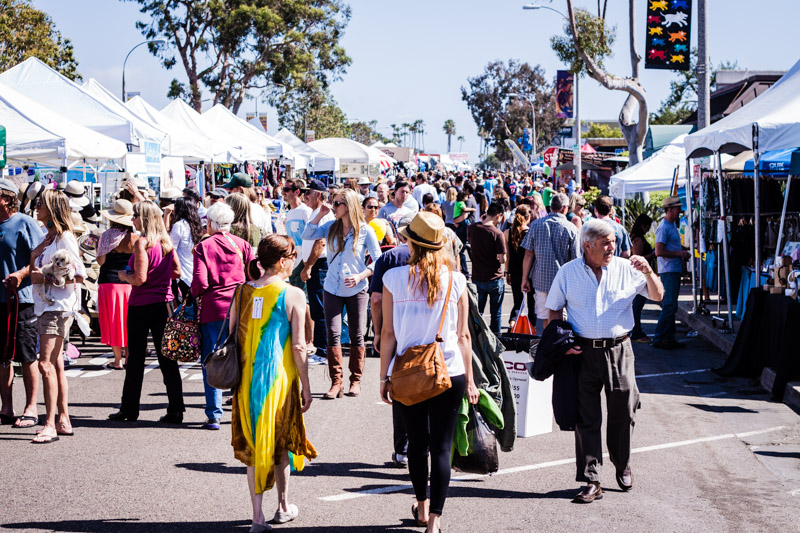 Encinitas Street Fair / San Diego Lifestyle Photographer
