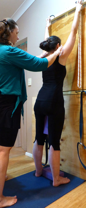 Yoga for Scoliosis Brisbane private class