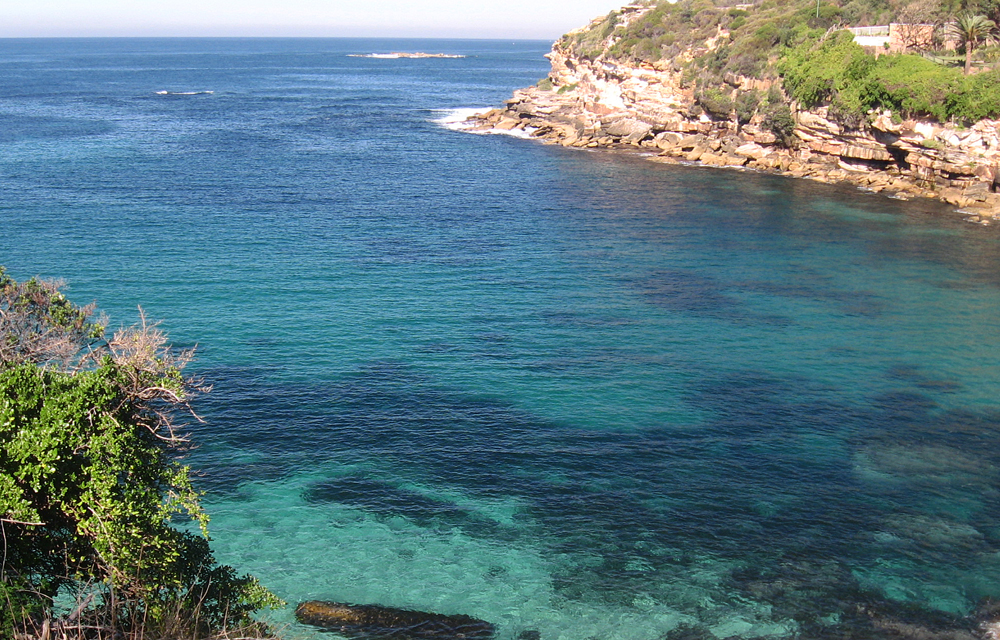 nope, not the Med. Gordon's Bay again, Sydney, May 2013. My own paradise.