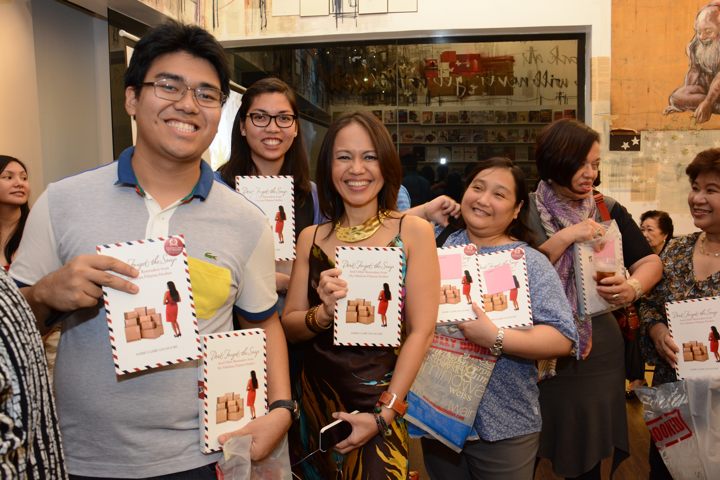Manila launch at Fully Booked Bonifacio Global City (December 2013)