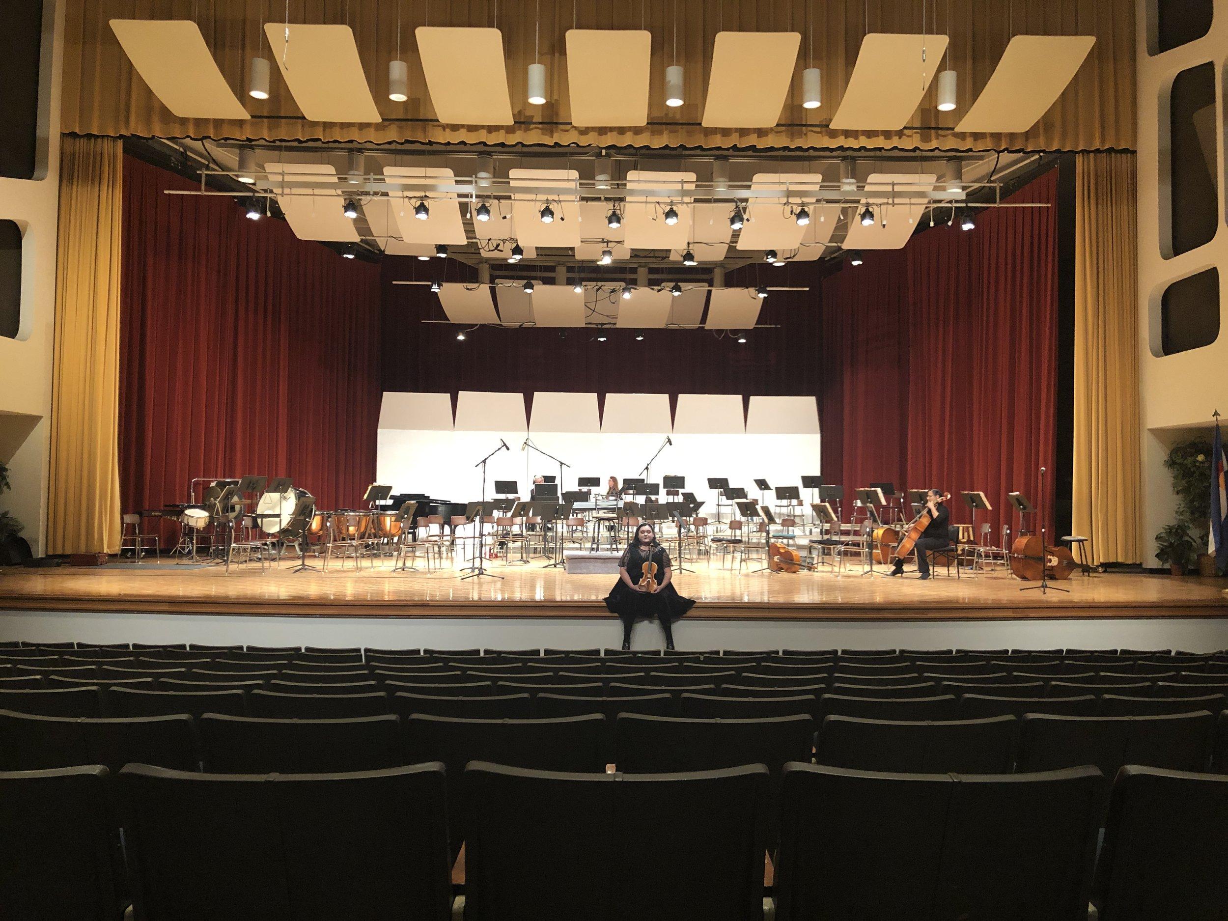 Violinist in the Pueblo Symphony   Symphony Website